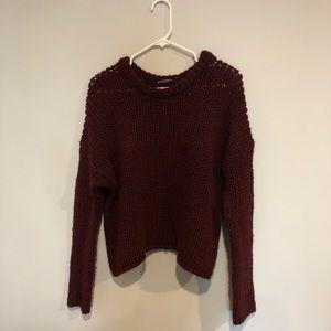 Brandy Melville Chunky Knit Sweater